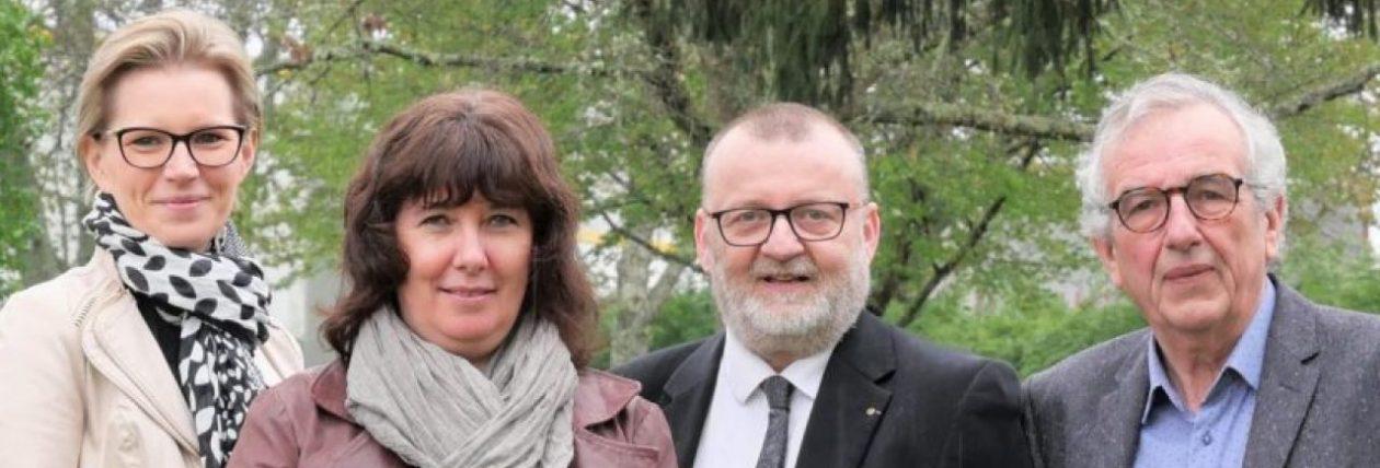 Valérie PRUNIER / Claire RICHARD – Michel SAUVADE / Daniel BARRIER – vos conseillers départementaux du canton d'AMBERT